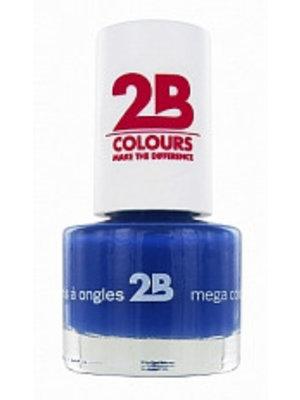 2b 2B NAGELLAK MEGA COLOURS MINI 31 LAPIS LAZULI - 1 STUKS