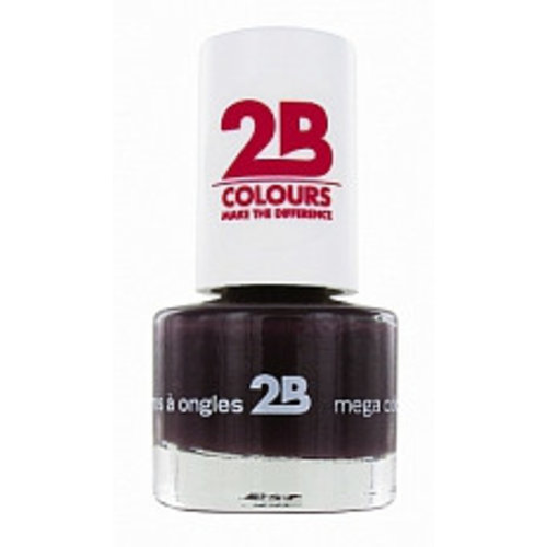 2b 2B NAGELLAK MEGA COLOURS MINI 35 BLACK DEVIL - 1 STUKS