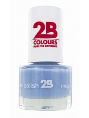 2b 2B NAGELLAK MEGA COLOURS MINI 46 MAGIC THERMO STYLE GREY BLUE - 1 STUKS
