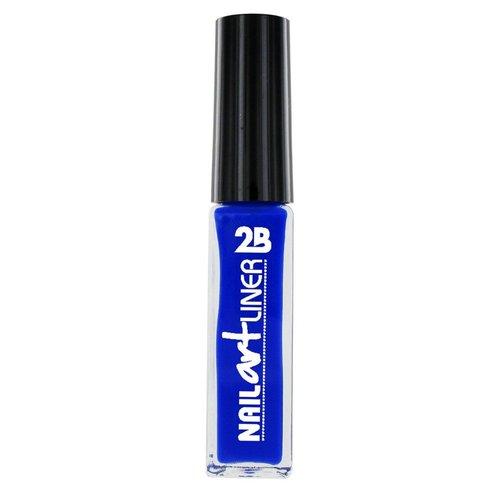 2b 2B NAIL ART LINER ROYAL BLUE 16 - 1 STUKS