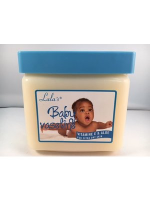 Lala's Lala's Baby Vaseline Dry Skin - 368 Gram