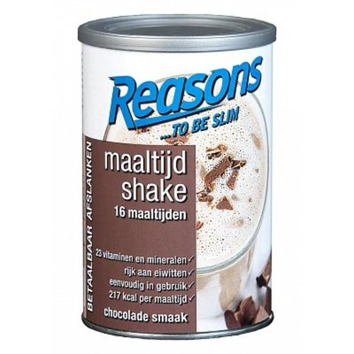 Reasons Reasons Maaltijd Shake Chocolade400 Gram