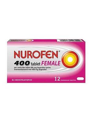 Nurofen Nurofen Female 400 Mg - 12 Stuks
