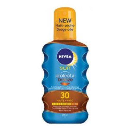 Nivea Nivea Sun Protect&Bronze Oil Spf 30-200ml