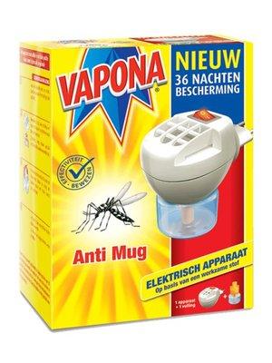 Vapona Vapona A-Mug Stekker - 1 Stuks