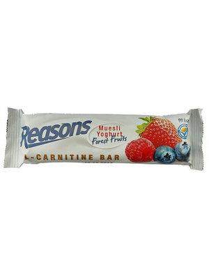 Reasons Reasons Bar L-Carnitine Muesli Yoghurt Reep 30 Gram