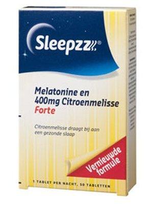 Sleepzz Sleepzz Melatonine Forte Citroenmelisse - 50 Stuks