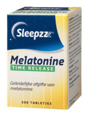 Slee Sleepzz Melatonine Time Release - 500 Stuks