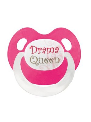 Bibi Bibi Fopspeen Drama Queen Of Bad Boy 16+ M - 1 Stuks