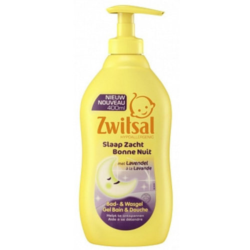 Zwitsal Zwitsal Bad&Wasgel Lavendel - 400ml