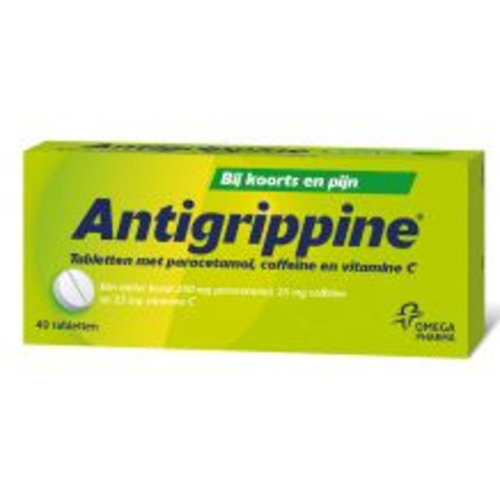 Antigrippine Antigrippine Grieptabletten - 40 Stuks