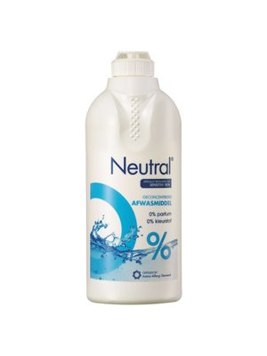 Neutral Neutral Afwasmiddel - 500 Ml