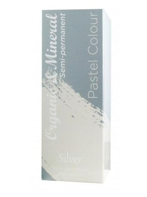 Organic Organic & Mineral Pastel Colour Silver - 1 Stuks