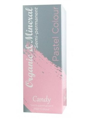 Organic Organic & Mineral Pastel Colour Candy Floss - 1 Stuks