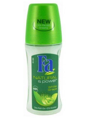 Fa Fa Deo Roller Natural&Power - 50 Ml
