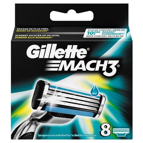 Gillette Gillette Mach3 Mesjes - 8 Stuks