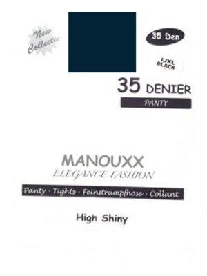 Manouxx Manouxx Panty 35 Denier Marine L/Xl - 1 Stuks