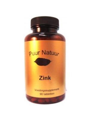 Puur Natuur Puur Natuur Zink 500 Mg - 90 Tabletten