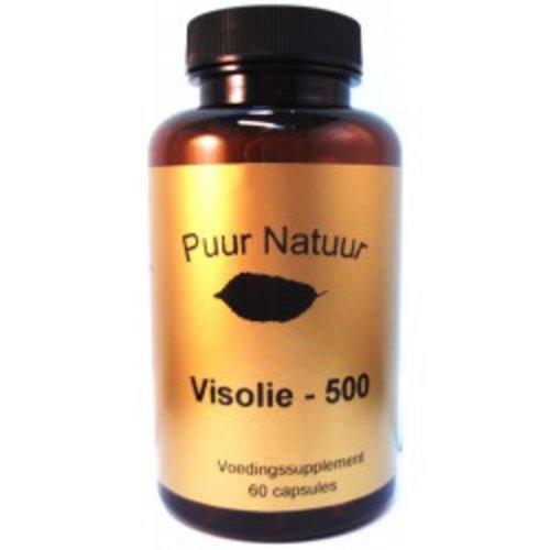 Puur Natuur Puur Natuur Visolie 500 Mg - 60 Capsules