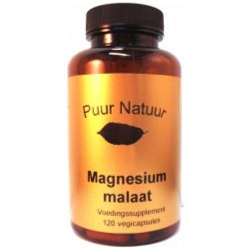 Puur Natuur Puur Natuur Magnesium Malaat -120 Capsules