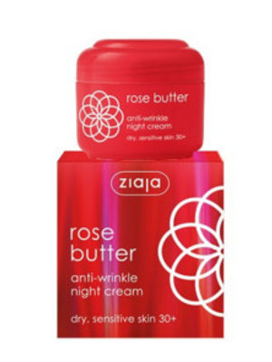 Ziaja Ziaja Rose Butter Nachtcreme - 50 Ml