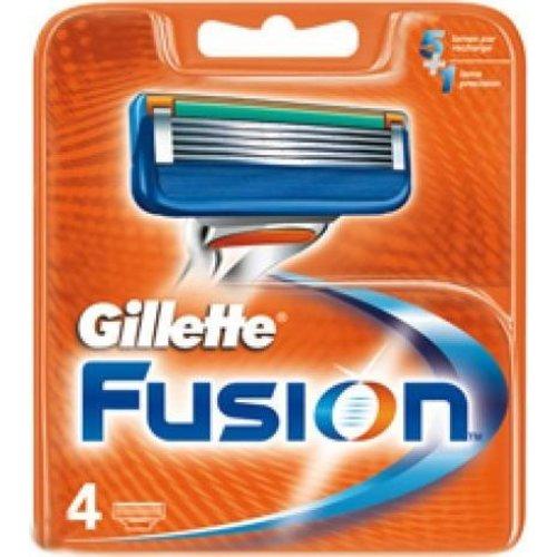 Gillette Gillette Fusion Manual Mesjes - 4 Stuks