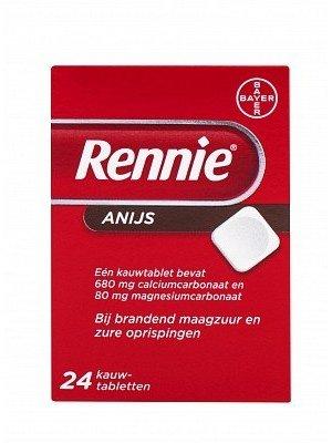 Rennie Rennie Anijs - 24 Tabletten