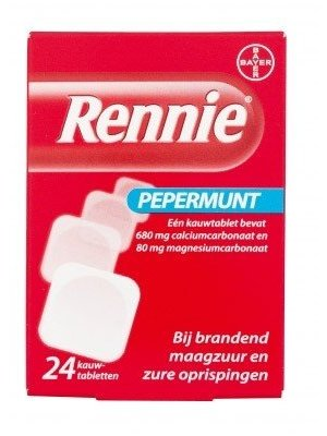 Rennie Rennie 24 Tabletten