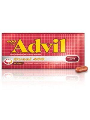 Advil Advil Ovaal 400 Mg - 20 Dragees