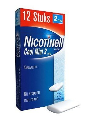 Nicotinell Nicotinell Kauwgom 2 Mg Pocket Coolmint -12 Tabletten