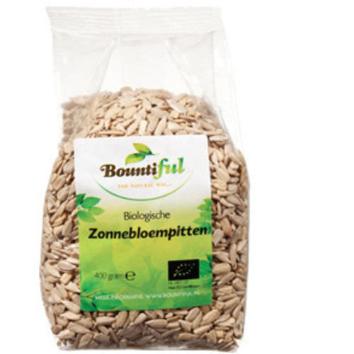 Bountiful Bountiful Zonnebloempitten - 400 Gram