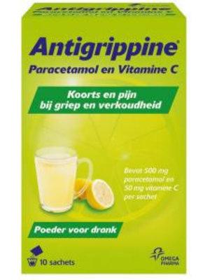 Antigrippine Antigrippine Hotdrink - 10 Stuks