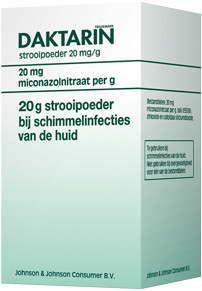 Image of Daktarin Daktarin Strooipoeder - 20 Gram