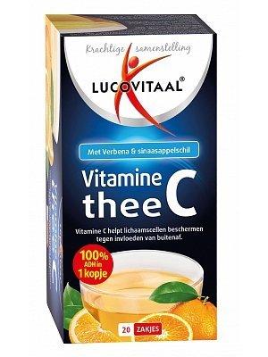LUCOVITAAL Lucovitaal Thee Vitamine C - 20 Zakjes