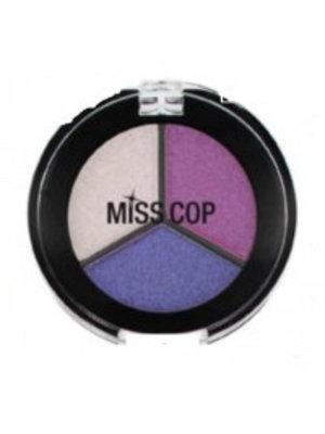 Miss Cop Miss Cop Trio Eyeshadow Pinky Nr 19 - 1 Stuks