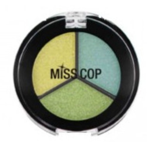Miss Cop Miss Cop Trio Eyeshadow Anis Nr 21 - 1 Stuks