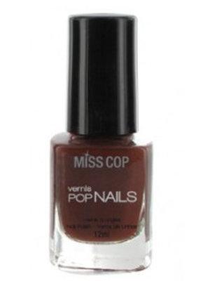 Miss Cop Miss Cop Nagellak Pop Nails Marron Fonce Nr 48 - 1 Stuks