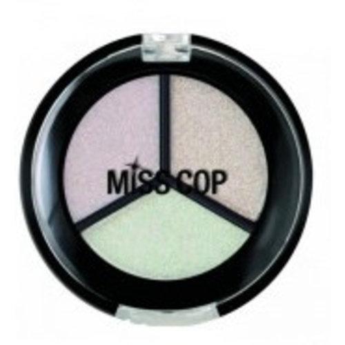 Miss Cop Miss Cop Trio Eyeshadow Nacre Nr 07 - 1 Stuks
