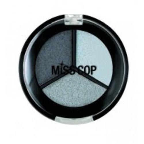 Miss Cop Miss Cop Trio Eyeshadow Gris Acier Nr 11 - 1 Stuks