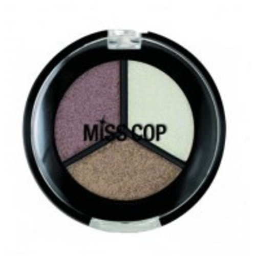 Miss Cop Miss Cop Trio Eyeshadow Macchiato Nr 12 - 1 Stuks