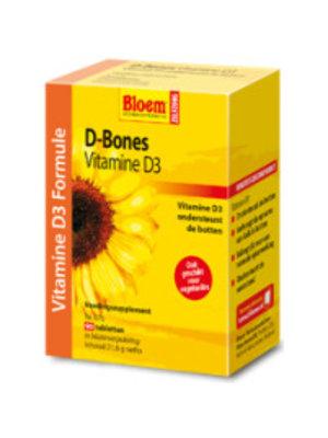 Bloem Bloem D-Bones Vitamine D3 - 90 Tabletten