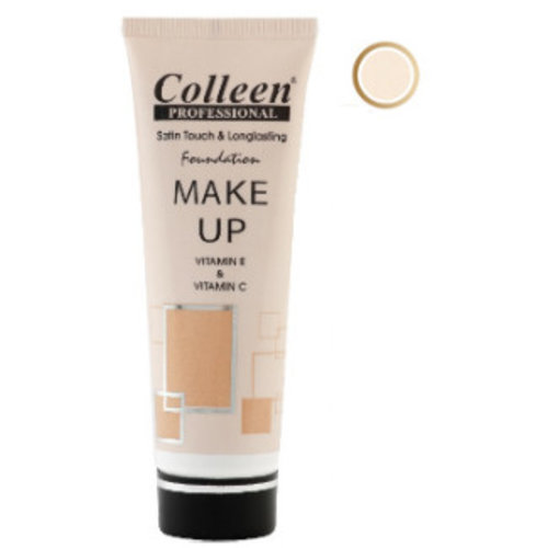 Colleen Colleen Satin Touch & Long Lasting Foundation - Nr 01