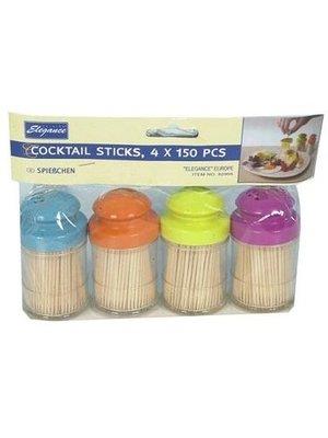 Cocktail Cocktail Sticks - 4x150 Stuks