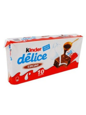 Kinder Bueno Kinder Delice Cacao 10 Stuks - 420 Gram