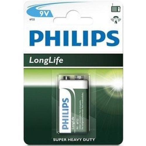 Philips PHILIPS 9 V LONGLIVE - 1 STUKS