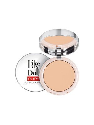 Pupa PUPA LIKE A DOLL COMPACT POWDER 003 NATUREL BEIGE - 1 STUKS