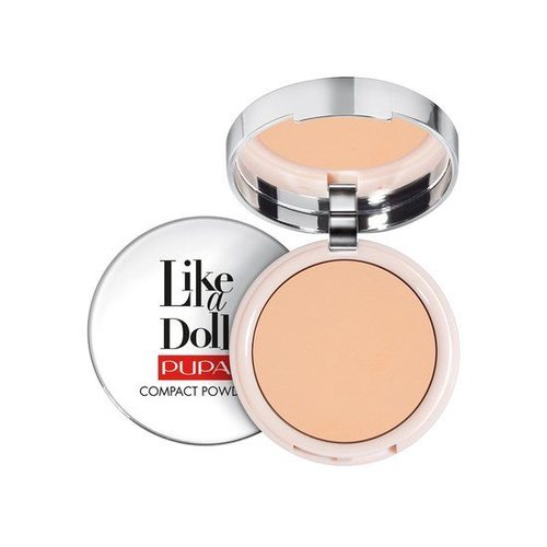 Pupa PUPA LIKE A DOLL COMPACT POWDER 004 WARM BEIGE - 1 STUKS