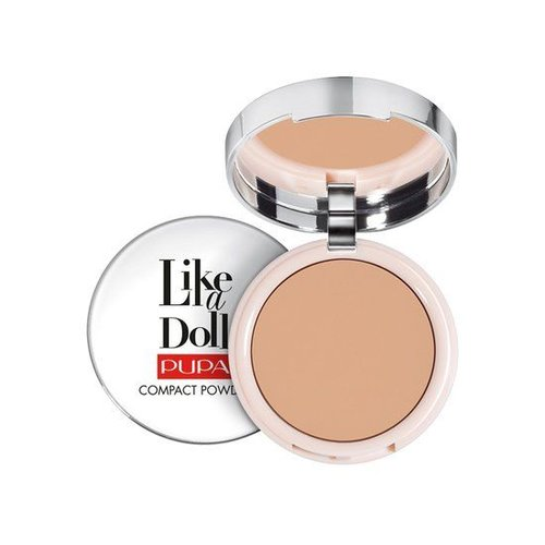 Pupa PUPA LIKE A DOLL COMPACT POWDER 005 GOLDEN HONEY - 1 STUKS