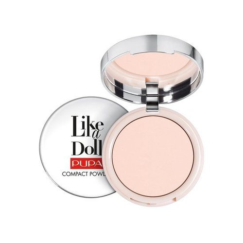Pupa PUPA LIKE A DOLL COMPACT POWDER 007 TENDER ROSE - 1 STUKS