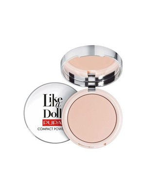 Pupa PUPA LIKE A DOLL COMPACT POWDER 002 SUBLIME NUDE - 1 STUKS